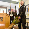 Danvers Police Department receives donation for new K-9 kennel